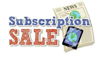 Subscription Sale Graphic